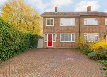 Thumbnail 3 bed semi-detached house for sale in The Green, Ware