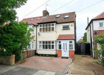 Thumbnail 3 bed semi-detached house for sale in Nelson Road, Whitton, Twickenham