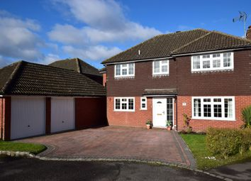 Thumbnail 4 bed detached house for sale in Lion Way, Church Crookham, Fleet