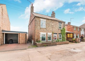 Thumbnail 1 bedroom semi-detached house for sale in The Bank, Parson Drove, Wisbech