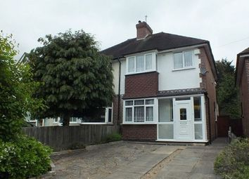 Thumbnail 3 bed semi-detached house to rent in Flaxley Road, Birmingham