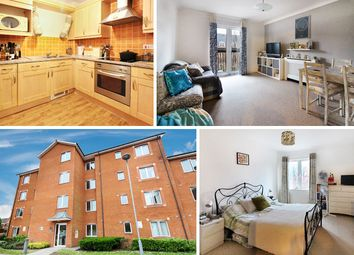 Thumbnail 1 bed flat for sale in Longueil Close, Cardiff