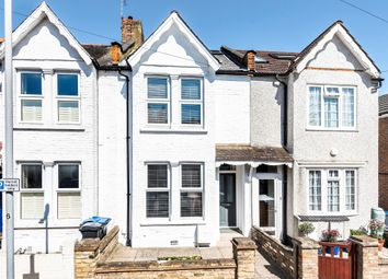 Thumbnail 3 bedroom terraced house for sale in Queens Road, New Malden
