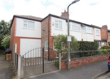 Thumbnail 4 bed semi-detached house for sale in Dargle Road, Sale