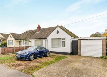 Thumbnail 2 bed semi-detached bungalow for sale in The Close, Clapham, Bedford