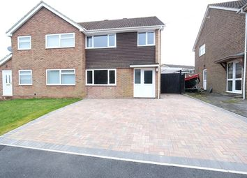 Thumbnail 3 bed semi-detached house for sale in Lodge Drive, Dibden Purlieu