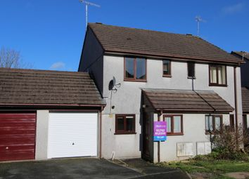 Thumbnail 2 bed semi-detached house to rent in The Lawns, Wilcove, Torpoint
