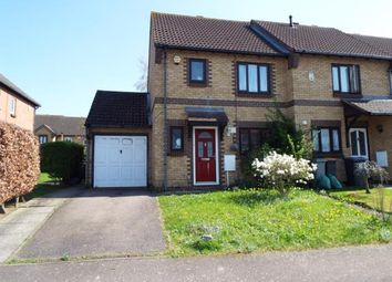 Thumbnail 3 bed end terrace house for sale in Clover Avenue, Bedford, Bedfordshire