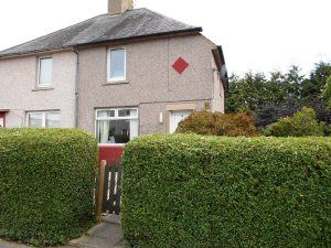 Thumbnail 2 bed detached house to rent in Spittalfield Road, Inverkeithing