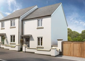 Thumbnail 2 bedroom semi-detached house for sale in Andromeda Grove, Plymouth