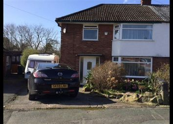 Thumbnail 3 bed semi-detached house for sale in Langdale Road, Woodley, Stockport