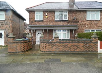 Thumbnail 3 bed semi-detached house for sale in Byng Road, Liverpool
