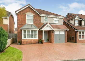 Thumbnail 4 bed detached house for sale in Alderney Close, Ellesmere Port, Cheshire