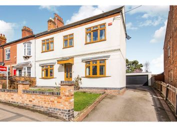 Thumbnail 4 bed link-detached house for sale in Coventry Road, Broughton Astley, Leicester