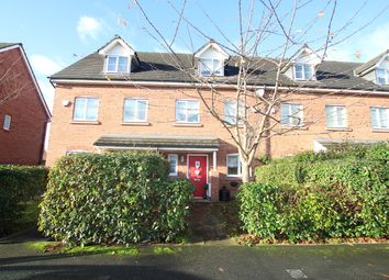 Thumbnail 4 bed town house to rent in Rylands Drive, Warrington
