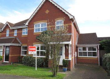Thumbnail 3 bed semi-detached house for sale in Battle Close, Simpson Manor, Northampton