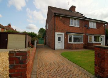 Thumbnail 2 bed semi-detached house for sale in Westminster Crescent, Intake, Doncaster