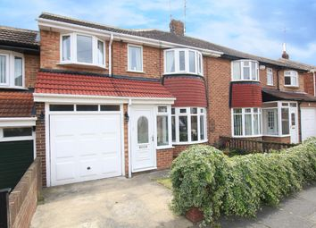 Thumbnail 4 bed semi-detached house for sale in Borrowdale Avenue, Seaburn Dene, Sunderland
