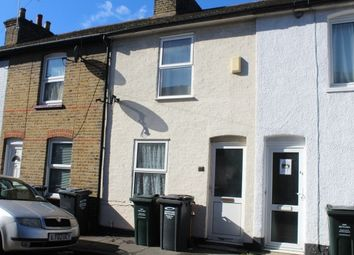 Thumbnail 2 bed terraced house to rent in Sun Road, Swanscombe