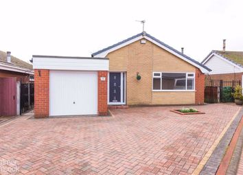 Thumbnail 3 bed detached bungalow for sale in Redwaters, Leigh, Lancashire