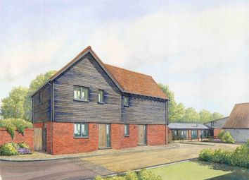 Thumbnail Detached bungalow for sale in Priory Farm Yard, Hunsdon Road, Widford, Herts