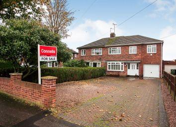 Thumbnail 4 bed semi-detached house for sale in Fulbridge Road, Werrington, Peterborough