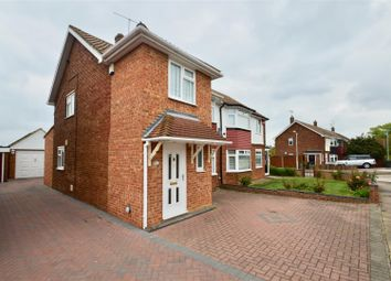 Thumbnail 3 bed semi-detached house for sale in Leander Drive, Gravesend