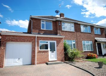 Thumbnail 3 bed semi-detached house to rent in Beaufort Avenue, Leamington Spa