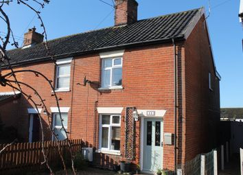 Thumbnail 2 bedroom end terrace house for sale in Heywood Road, Diss