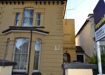 Thumbnail 4 bedroom flat to rent in 12, The Walk, Roath, Cardiff, South Wales