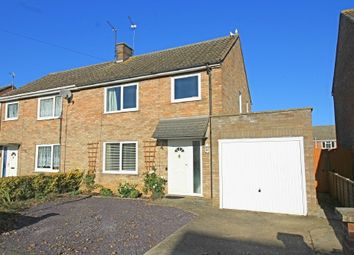Thumbnail 3 bed semi-detached house for sale in Stuart Close, Godmanchester