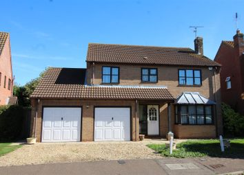 Thumbnail 4 bed detached house for sale in Clarendon Way, Glinton, Peterborough