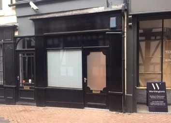 Thumbnail Retail premises to let in Basement Shop 8-9 Sadler Gate, Derby, Derby