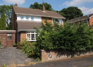 Thumbnail 3 bed detached house for sale in Beaufort Road, Church Crookham, Fleet