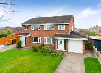 Thumbnail 3 bed semi-detached house for sale in Calder Close, Shrewsbury