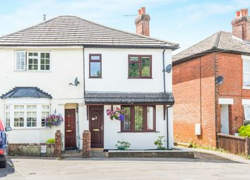Thumbnail 3 bed semi-detached house for sale in Botley Road, Romsey