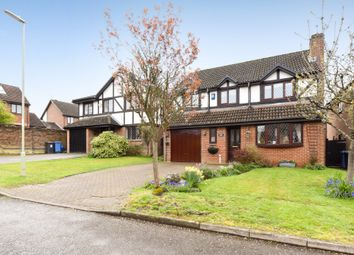 Thumbnail 4 bed detached house for sale in Oldcorne Hollow, Yateley