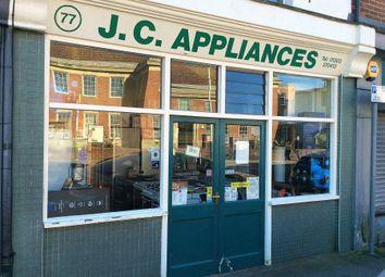 Thumbnail Retail premises for sale in 77 Cheriton High Stret, Folkestone CT19 4He