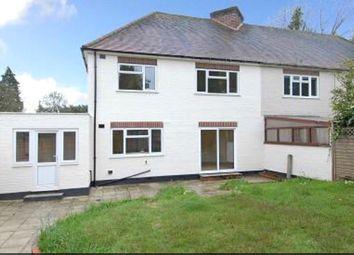 Thumbnail 3 bed semi-detached house to rent in Sandhills Lane, Virginia Water, Surrey
