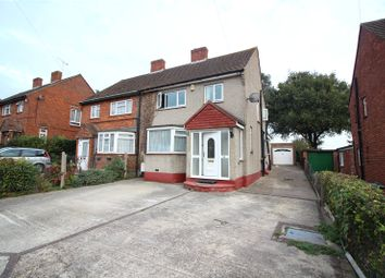 Thumbnail 3 bed semi-detached house to rent in Ladywood Road, Dartford, Kent
