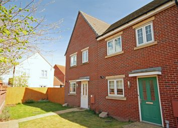Thumbnail 3 bed end terrace house for sale in Secunda Way, Hempsted, Gloucester
