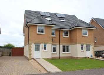 Thumbnail 4 bed semi-detached house for sale in Primpton Avenue, Dalrymple, East Ayrshire