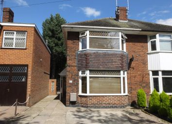 Thumbnail 2 bed semi-detached house for sale in Beech Avenue, Stretton, Burton-On-Trent