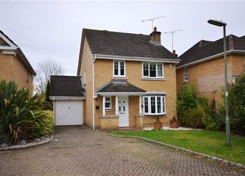 Thumbnail 4 bed detached house for sale in Hanson Close, Camberley, Surrey