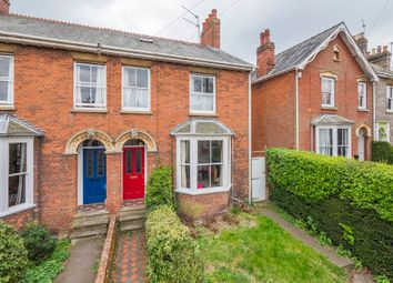 Thumbnail 4 bed semi-detached house for sale in York Road, Bury St. Edmunds