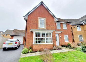 Thumbnail 4 bed detached house for sale in De Haia Road, Rogerstone, Newport