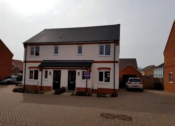 Thumbnail 3 bedroom semi-detached house for sale in Verbena Road, Cringleford, Norwich