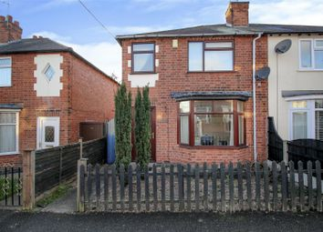 Thumbnail 2 bed semi-detached house for sale in Myrtle Avenue, Stapleford, Nottingham
