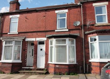 Thumbnail 3 bed terraced house for sale in Lister Avenue, Doncaster, South Yorkshire