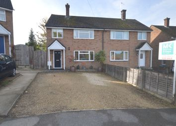 Thumbnail 3 bed semi-detached house for sale in Maud Janes Close, Ivinghoe, Leighton Buzzard, Bedfordshire